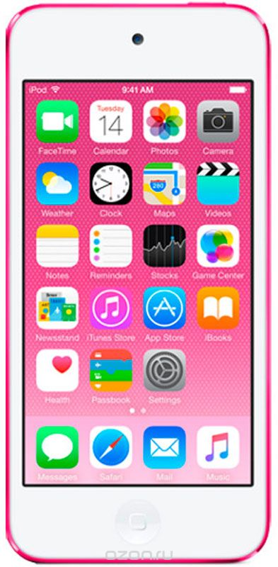 Apple iPod Touch 128GB, Pink mp3-плеер